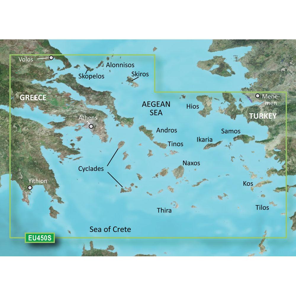 Garmin Bluechart G2 - HXEU450S - Athens & Cyclades - microSD/SD-Cartography - Ga at Sears.com