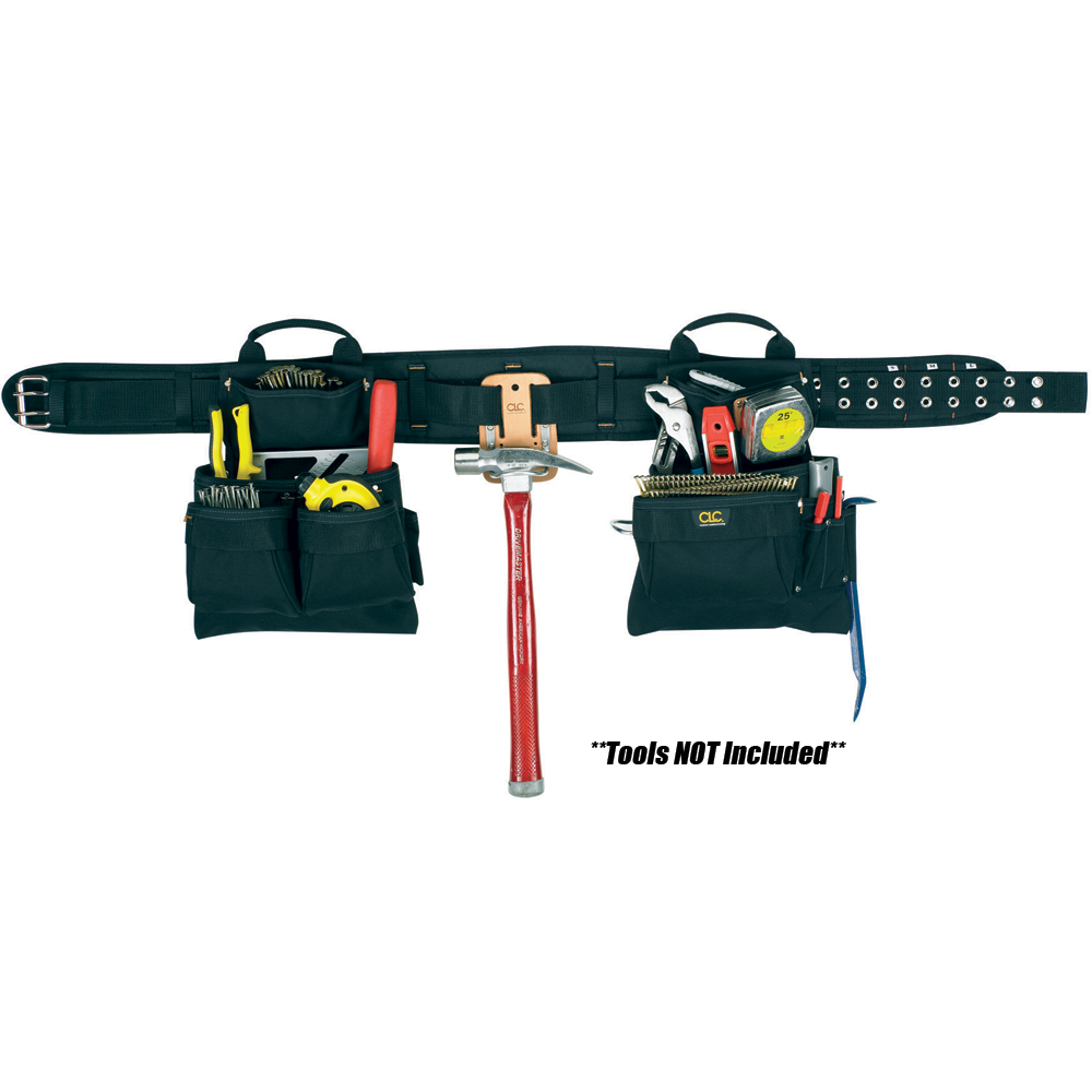 BSSN CLC 5608 17 Pocket 4-Piece Carpenter's Combo Tool Belt