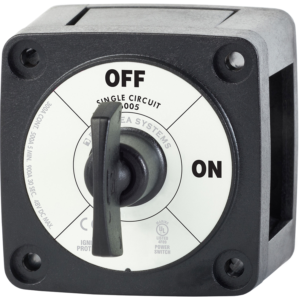 Blue Sea Systems Blue Sea 6005200 Battery Switch Single Circuit ON-OFF - Black-Electrical | Batte at Sears.com